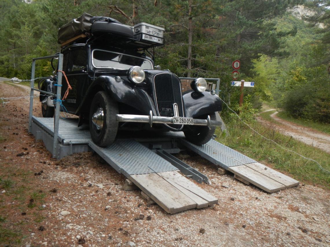 Citroen Traction Reisen