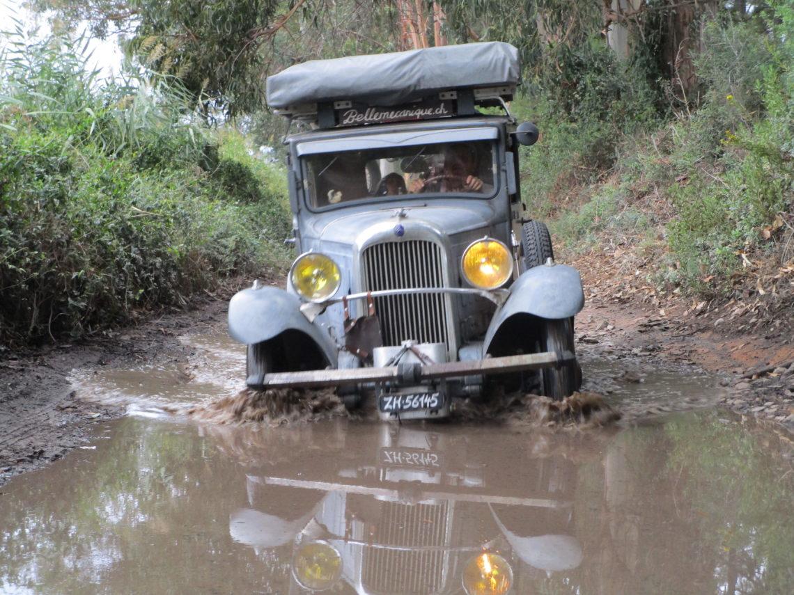 Vom Zürcher, der mit seinen alten Citroëns bis ans Ende der Welt fährt