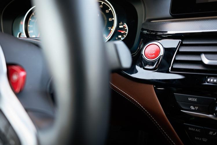 BMW M5 Cockpit