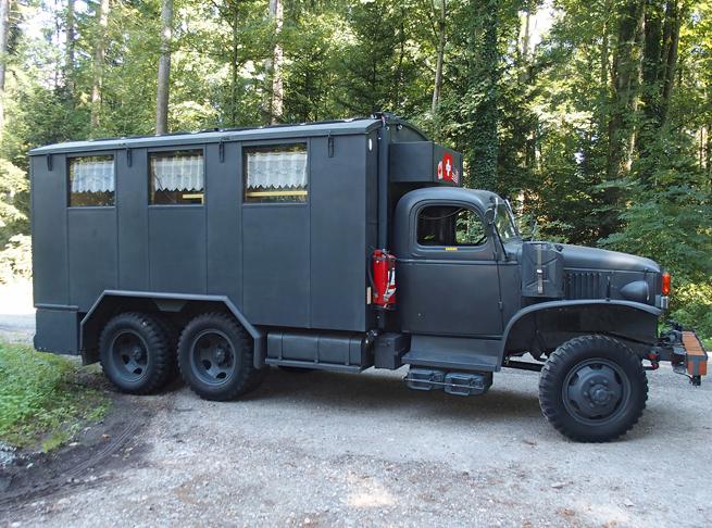 1943 GMC CCKW 6x6 Expeditionsfahrzeug