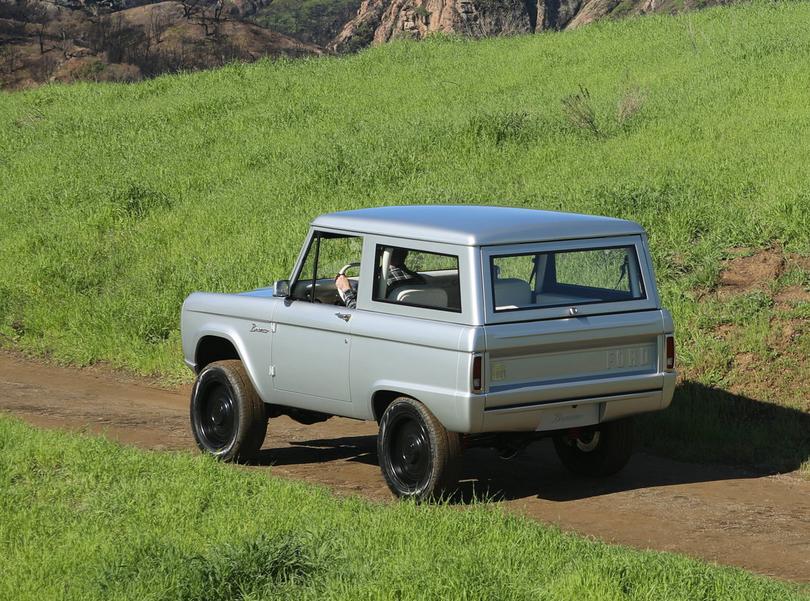 Vegan, elektrisch und kult: Der Ur-Ford Bronco von Zero Labs
