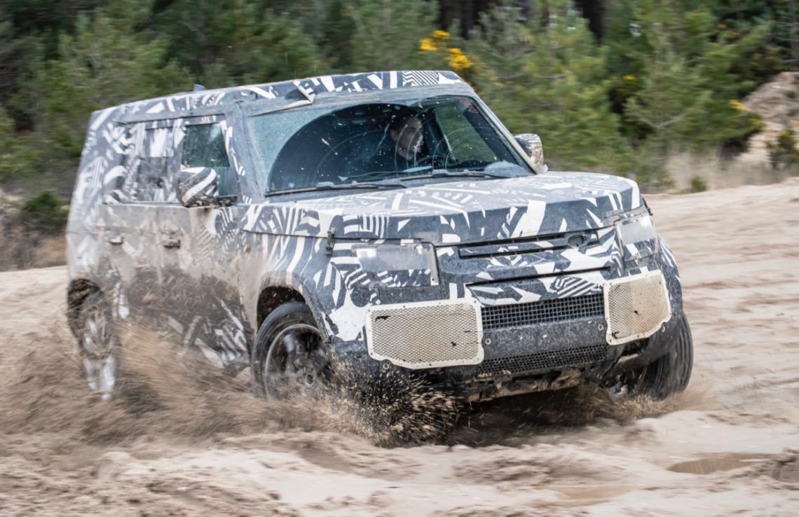 New Land Rover Defender: 45'000 Einzeltests bestanden