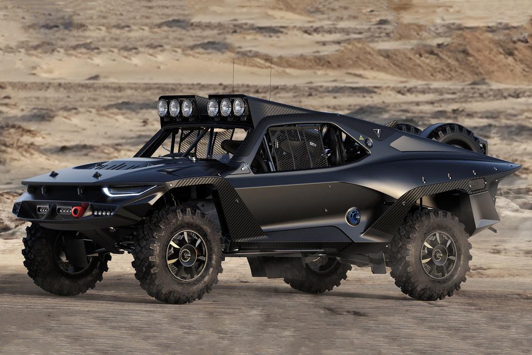 Desert Storm Trophy Truck Studie: Der apokalyptische Reiter