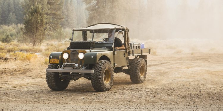 Timm Cooper Land Rover Series 1