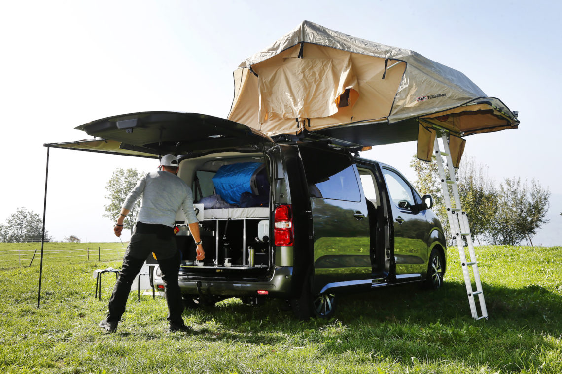 Toyota Proace Verso Family Camper