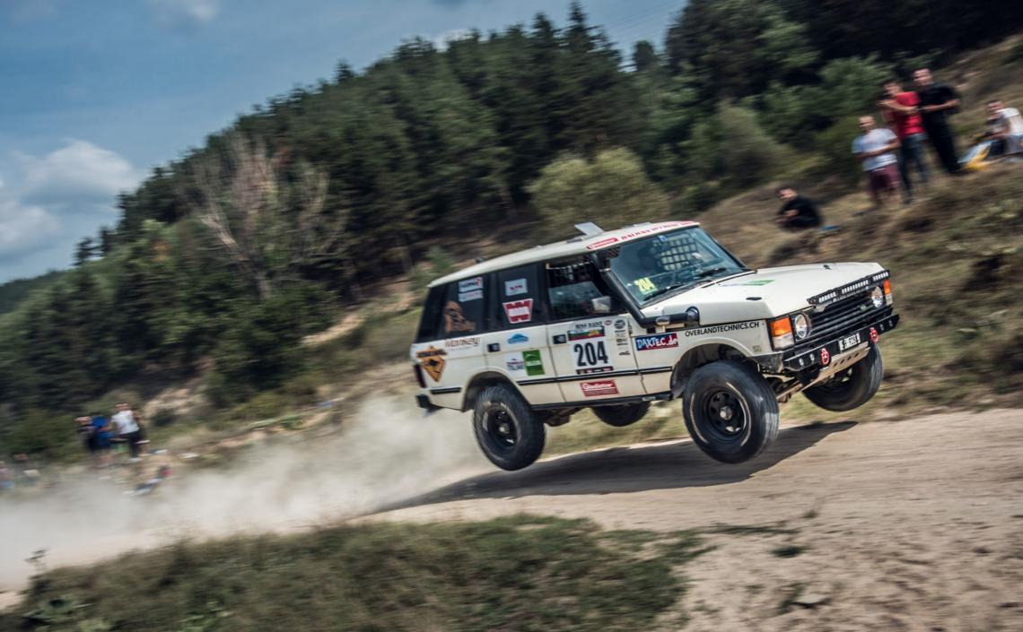 Driving Miss Daisy – ein Range Rover-Oldie auf grosser Abenteuerfahrt