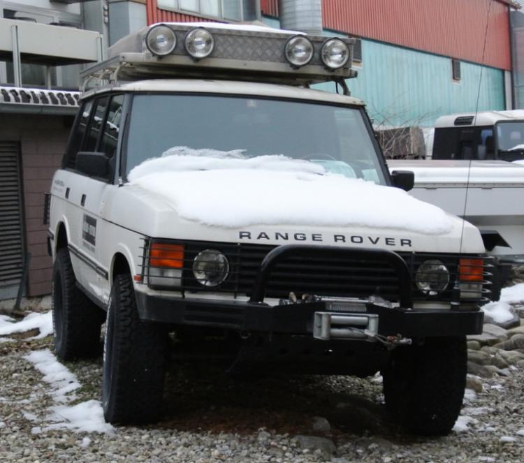 Range Rover Miss Daisy