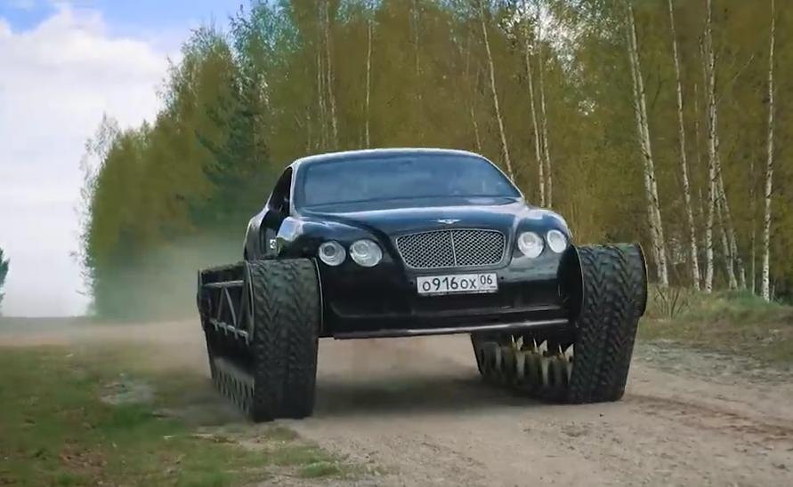 """Der Bentley Continental GT """"Ultratank"""" wird zum Viralhit"""