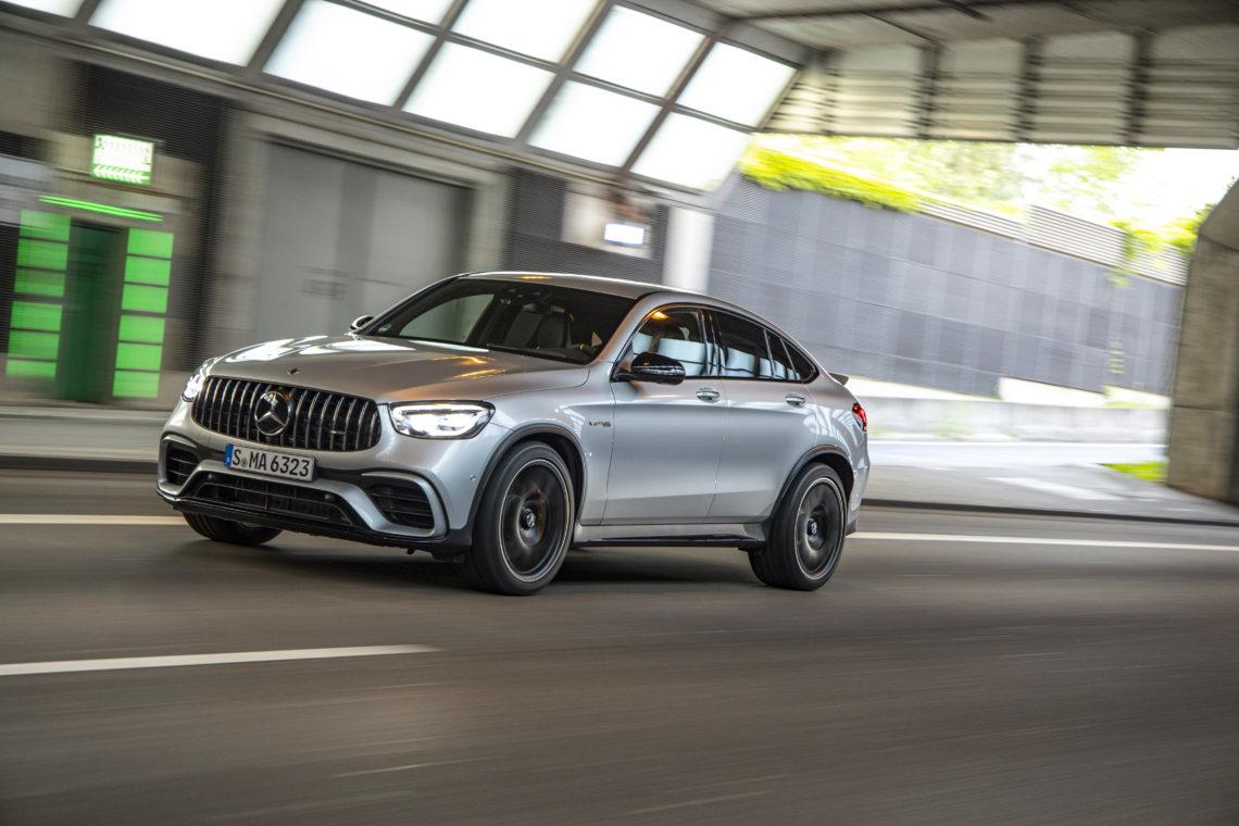 Lass es knallen! Der neue Mercedes-AMG GLC 63 S 4MATIC+