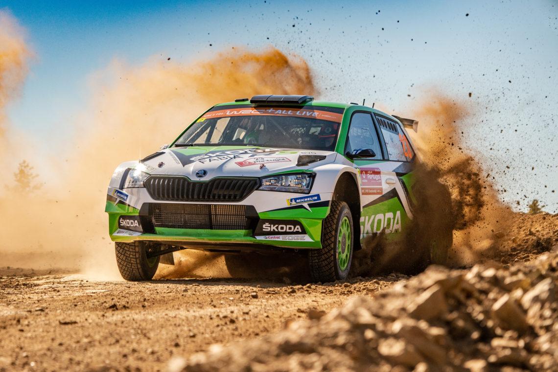 WRC2 Pro / Rallye Portugal: Škoda fährt von Null auf Sieg