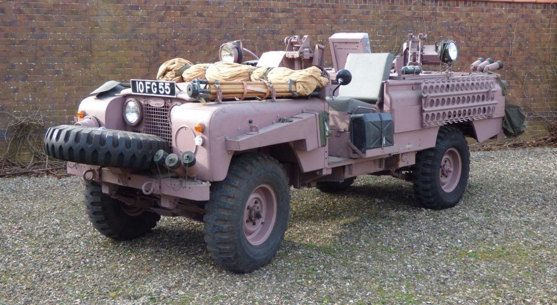 Pink Panther: Legendärer SAS-Land Rover wird verkauft