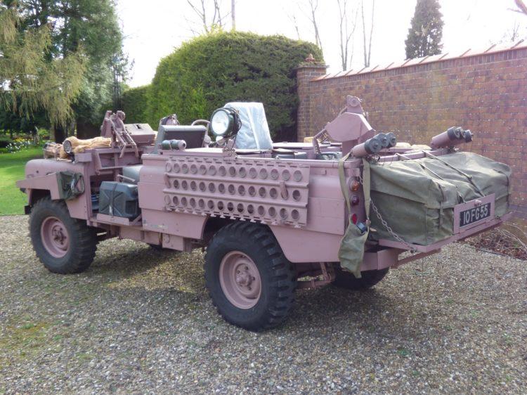 Land Rover Pink Panther
