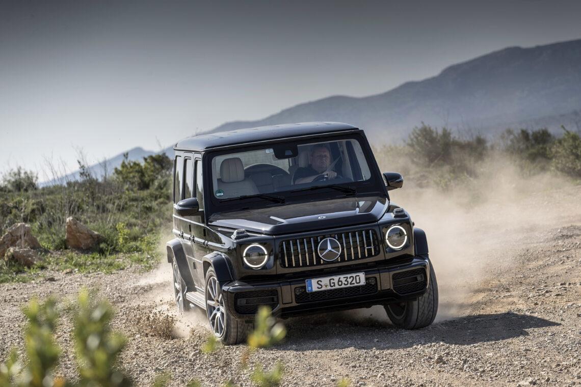40 Jahre Mercedes-Benz G-Klasse – die Geschichte einer Ikone