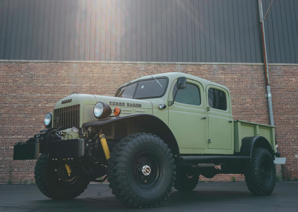 Wer will diesen 1949er Dodge Power Wagon 4-Door?