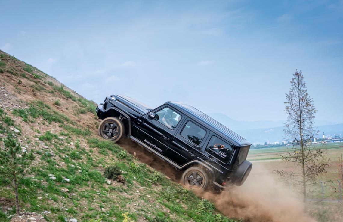 Mercedes-Benz G-Klasse Experience Centerin Graz: Der neue «Mount Schöckl»