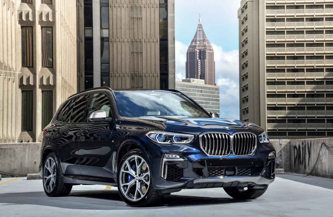 Ein High-Five für die BMW X5 M50d Powerdiesel-Rakete