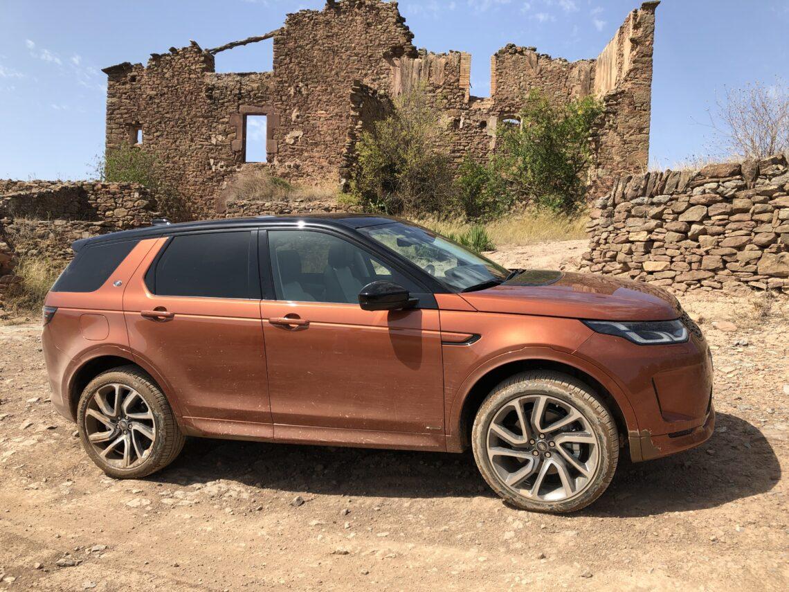 Der fast ganz neue Land Rover Discovery Sport 2020