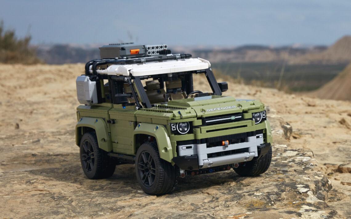 Lego bringt den neuen Land Rover Defender als Bausatz