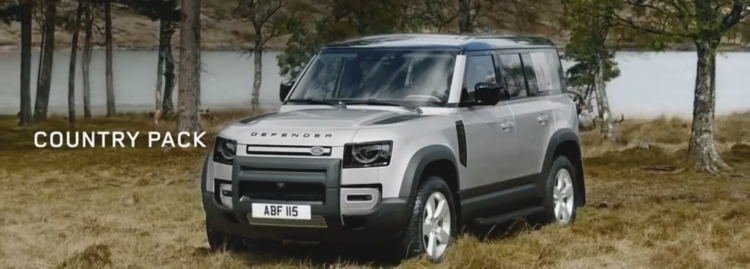 Land Rover New Defender MY20