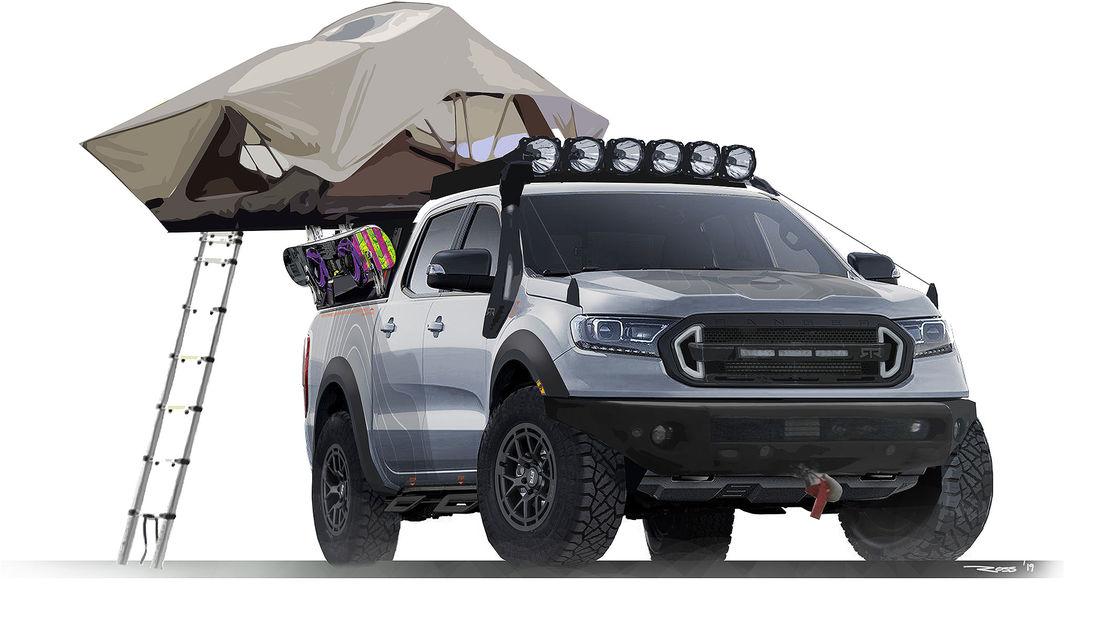 Ford Ranger Offroad-Konzepte an der SEMA