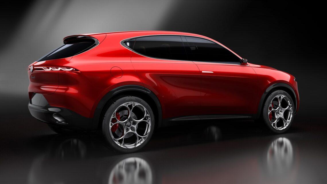 Der Alfa Romeo Tonale kommt – erste Fotos der Serien-Version geleakt