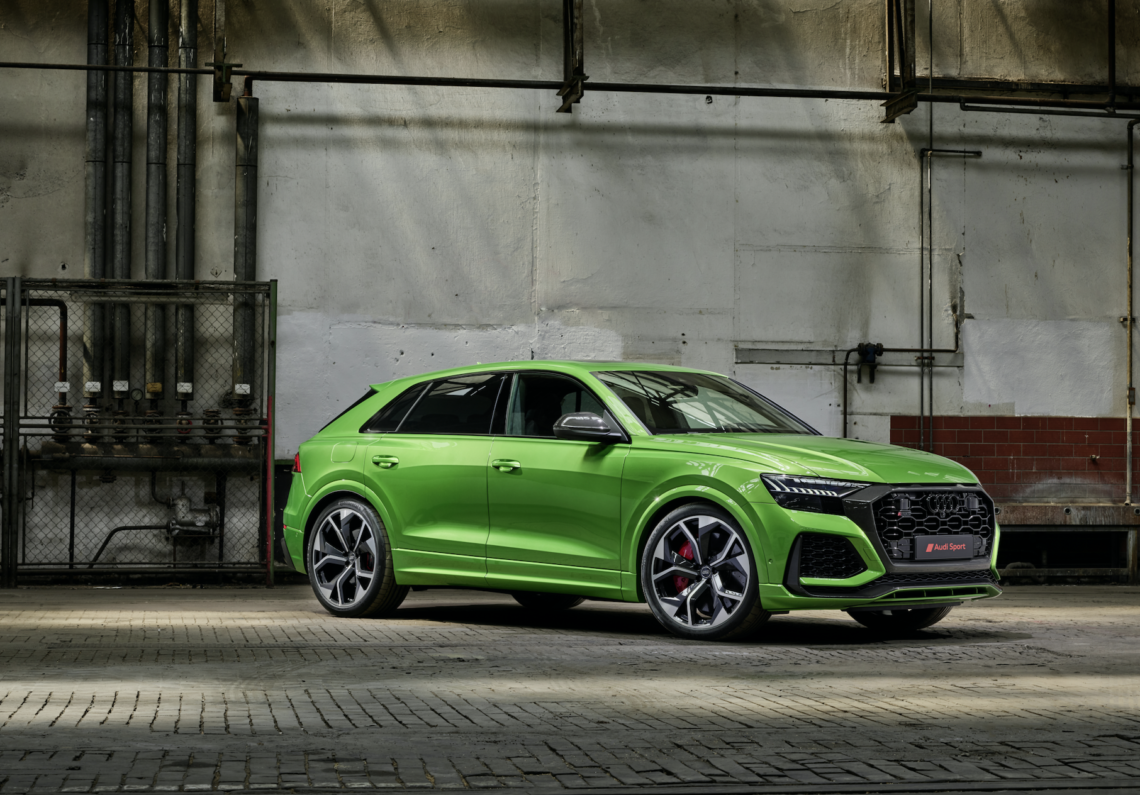 Der neue Audi RS Q8: Rings on Fire