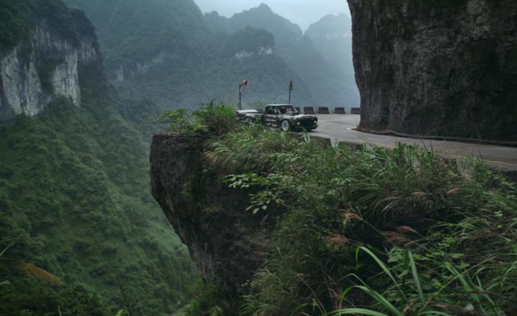 Ken Block Climbkhana TWO - Hoonitruck in China