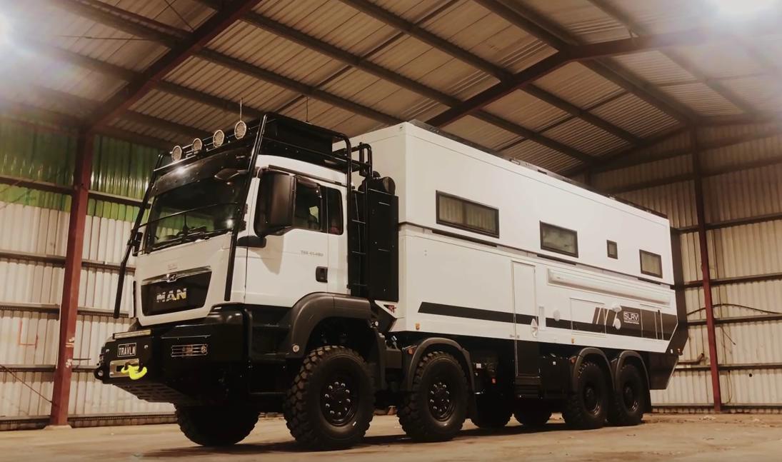 SLRV Commander 8×8 – Das Expeditionsfahrzeug für die Grossfamilie