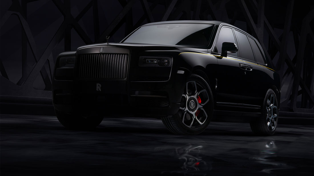 Rolls-Royce BLACK BADGE CULLINAN – Lord of Darkness