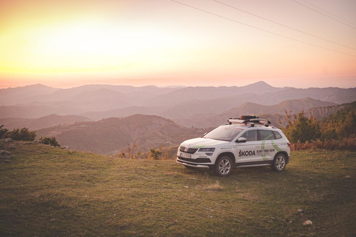Skoda Euro Trek 2019 von Tirana nach Korfu: Expedition in eine fremde Welt