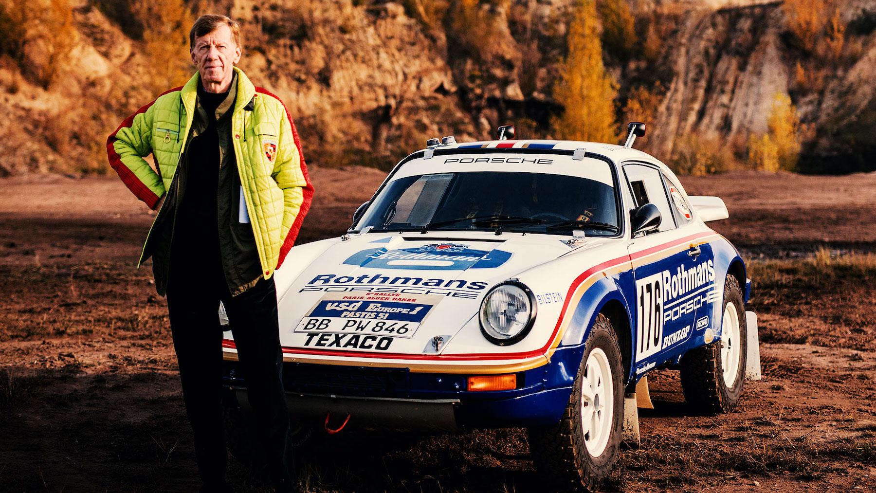 Das sind Walter Röhrls Top-5-Rallye-Porsches
