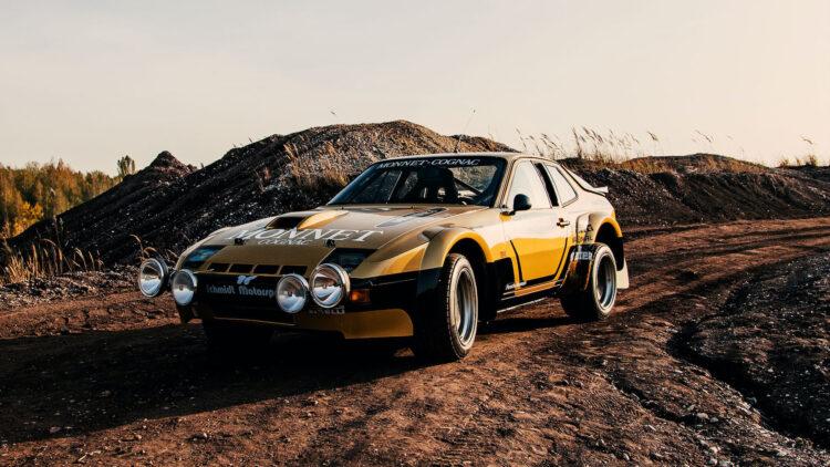 Walter Röhrl Porsche Rallye