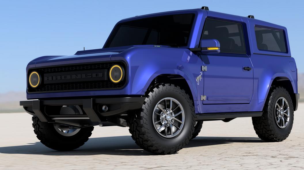 Sieht so der neue Ford Bronco aus?