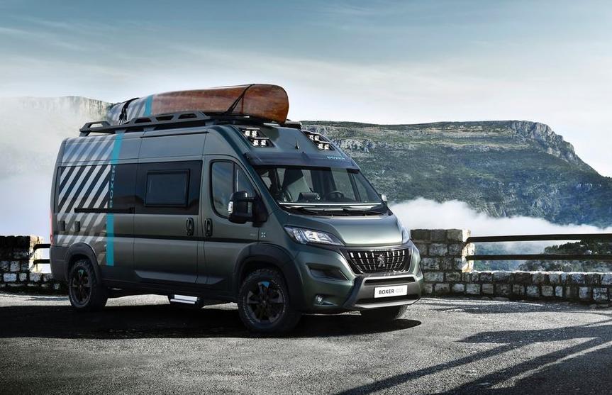 Peugeot Boxer 4×4 Concept– Ein Platz an der Sonne