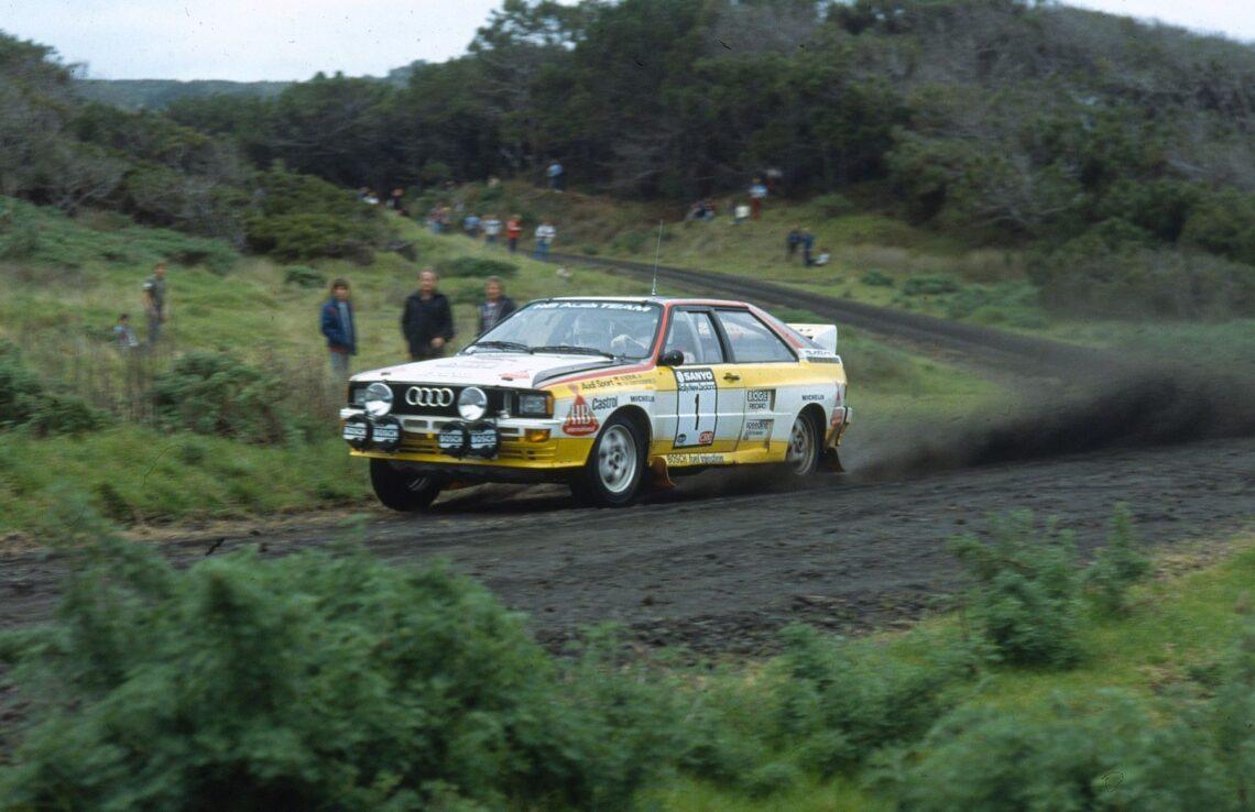 40 Jahre Audi quattro: Der weltweit erste 4×4-Racer