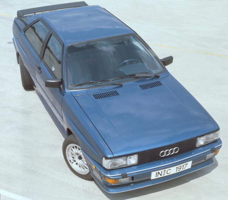 40 Jahre Audi quattro