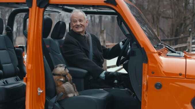 Und millionenfach grüsst das Murmeltier: Bill Murrays Jeep Super Bowl Spot geht durch die Decke