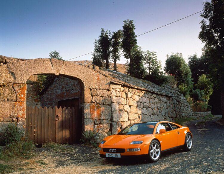 Stilstudie Audi quattro Spider
