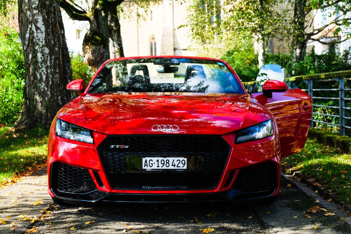 Audi TT RS Roadster – Robin braucht Batman nicht mehr