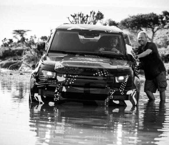 ACCESS ALL AREAS – Tierfotograf David Yarrow mit dem neuen Land Rover Defender 2020