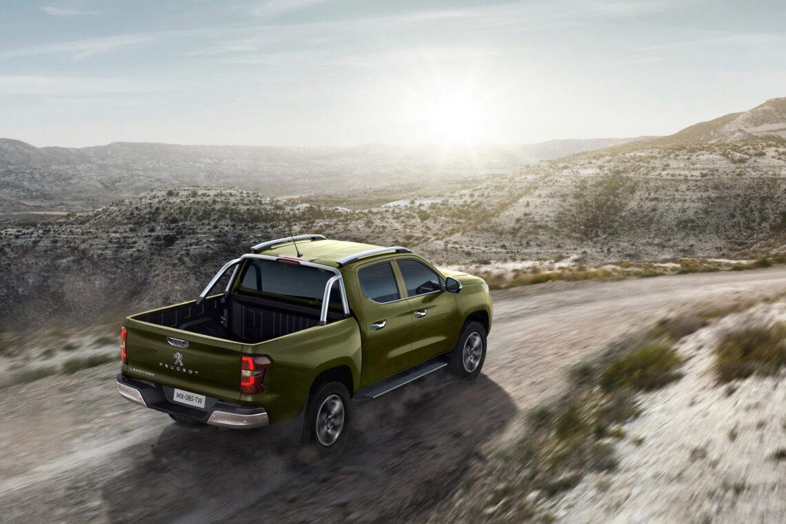 Der Löwe unter den Pick-ups: Peugeot Landtrek