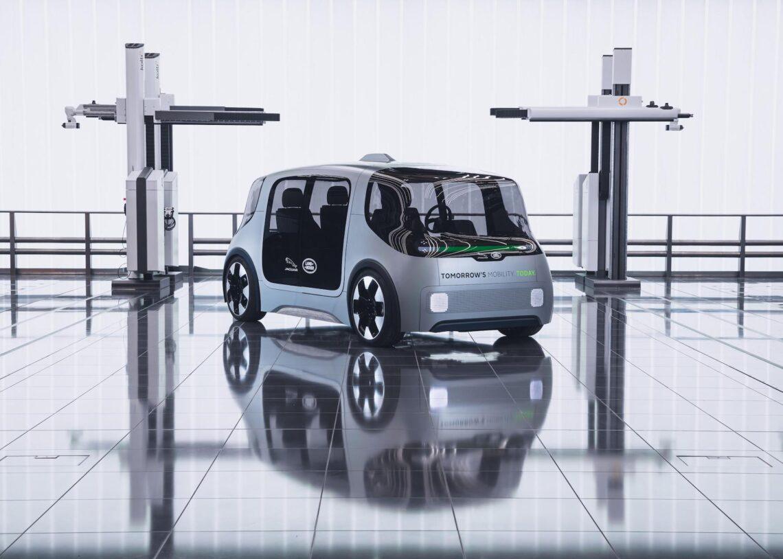 Jaguar Land Rover Vector: Selbstfahrendes Fahrzeug für den Nahverkehr