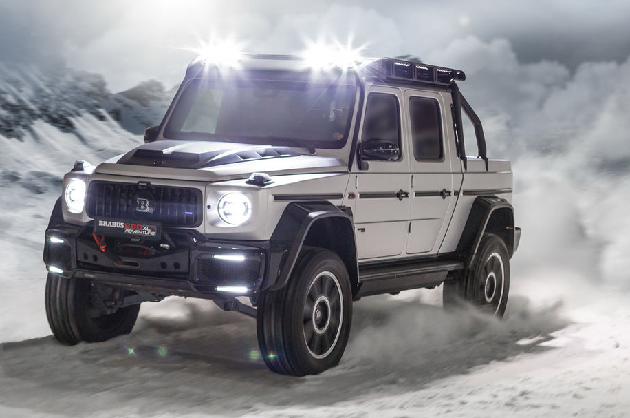 Brabus 800 Adventure XLP – das 1000 Nm Monster