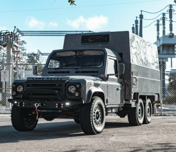 Land Rover Defender 110 6×6 Camper Overlander