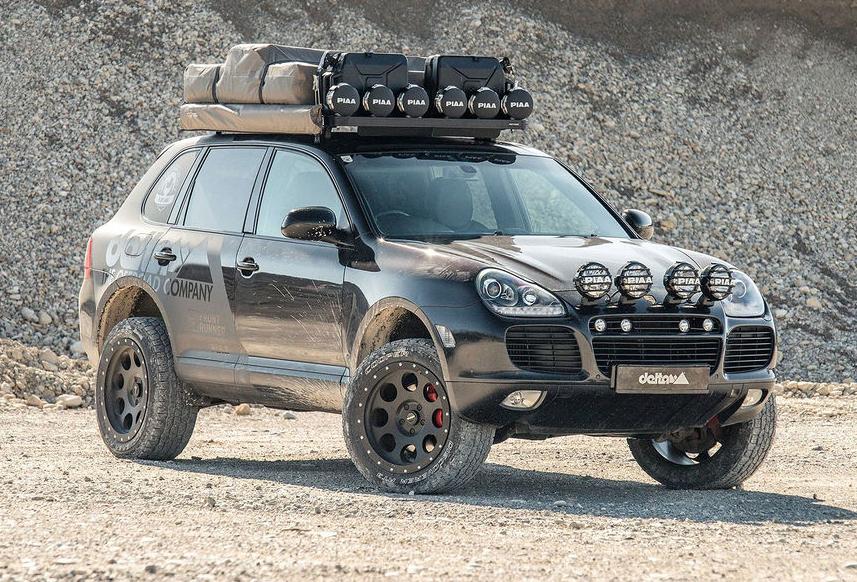 Dieser Porsche Cayenne ist ein Expeditionsmobil