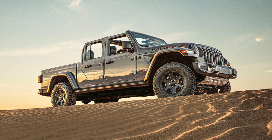 Jeep Gladiator Mojave – der Wüstenrenner