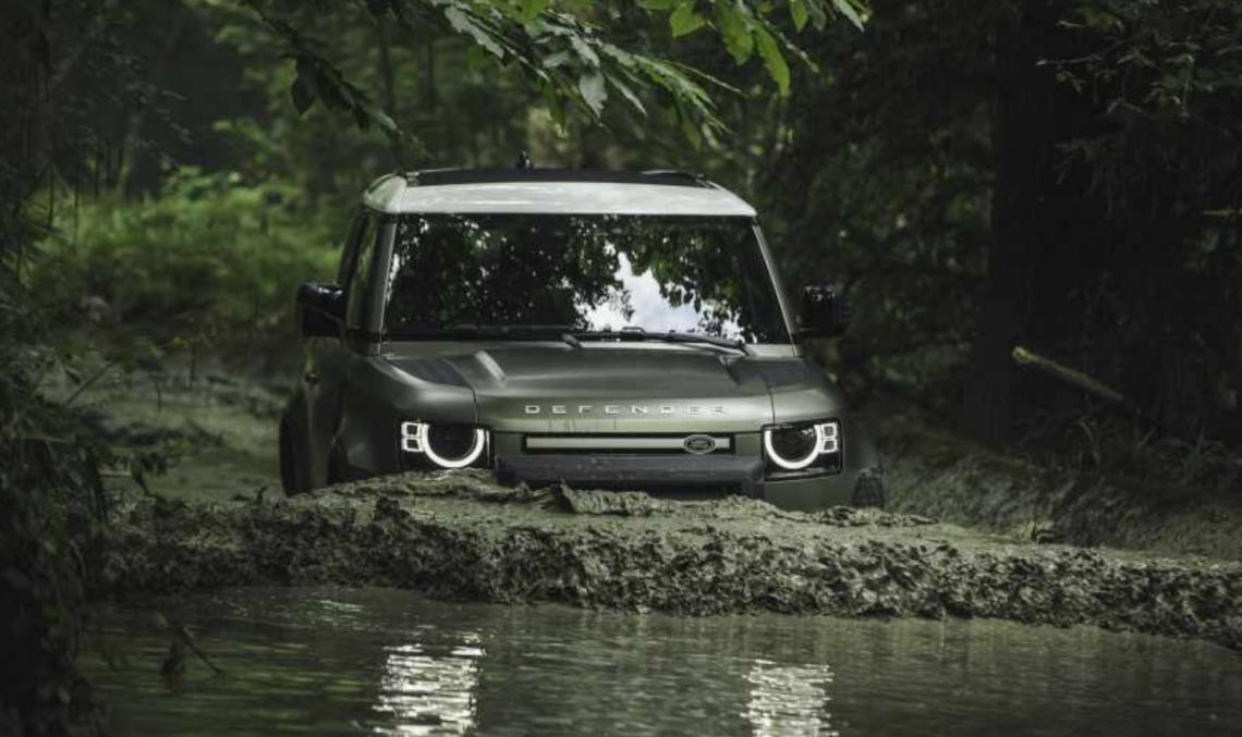 Ab sofort zu bestellen: der neue Land Rover Defender 90