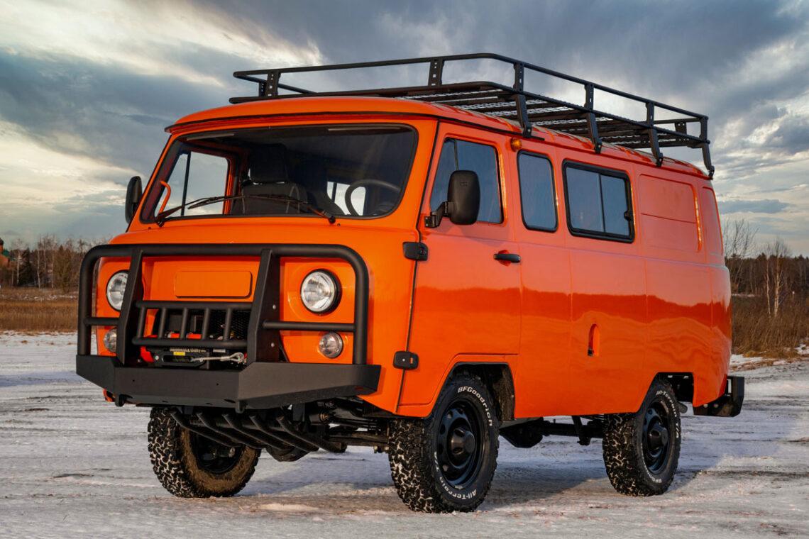 UAZ SGR Combi Expedition: Das coolste Expeditionsfahrzeug aller Zeiten