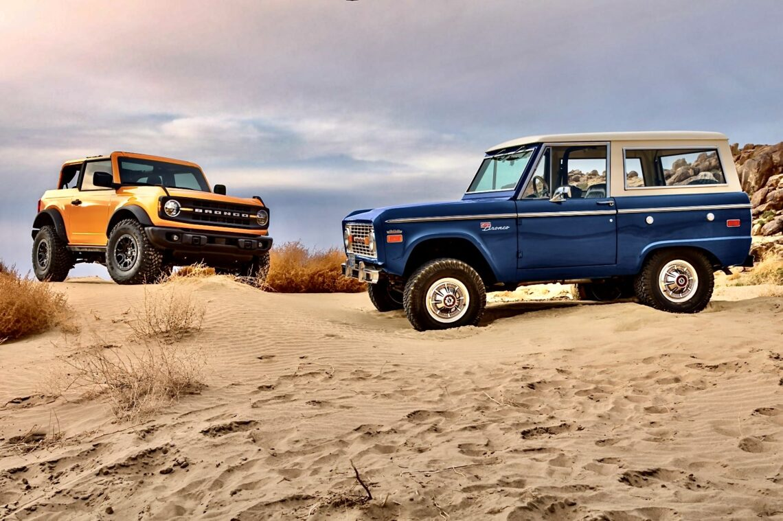 Ford Bronco is back, endlich.