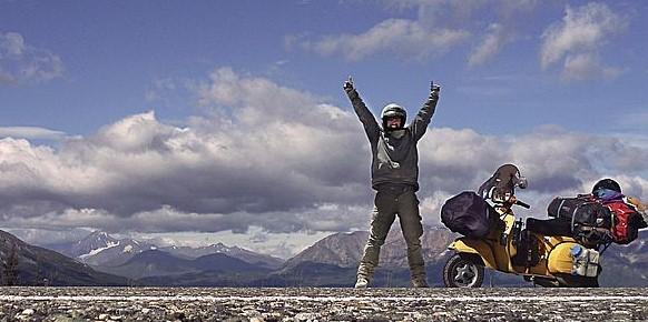 VESPARICANA: MIT DER VESPA VON ALASKA NACH FEUERLAND